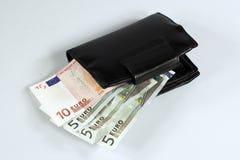 представляет счет евро Стоковые Фотографии RF