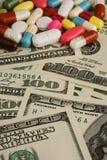 представляет счет таблетки доллара Стоковое Изображение