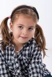 Представлять маленькой девочки стоковые фото