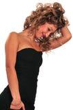 представлять сексуальную женщину Стоковое Изображение