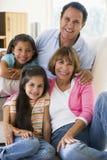 представлять grandparents внучат Стоковое Изображение