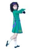 представлять irish танцора Стоковые Фото