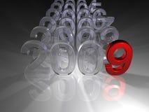 предстоящий год Стоковое фото RF