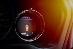 Предупреждая автомобиль открытый двери стоковые изображения rf