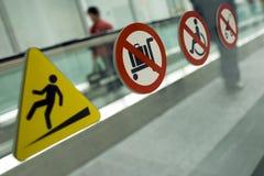 предупреждение дорожки Стоковые Изображения RF