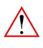 предупреждение дорожного знака Бесплатная Иллюстрация