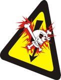 предупреждение знака безопасности здоровья Стоковые Изображения