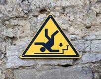 предупреждение знака стоковые фотографии rf