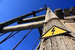 предупреждение знака Стоковая Фотография