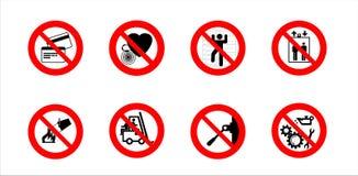 предупреждение знака Стоковое Изображение RF