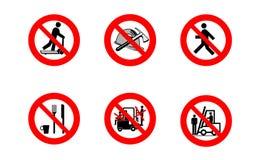 предупреждение знака Стоковое Фото