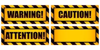 предупреждение знаков