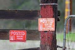 предупреждение знаков стоковое фото rf