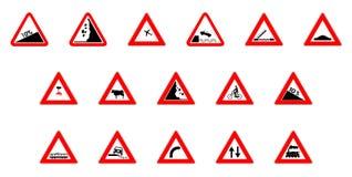 предупреждение икон Стоковое Изображение RF