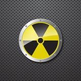 предупреждение предпосылки ядерное Стоковое Изображение RF