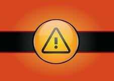 предупреждение предпосылки стоковая фотография rf