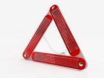 предупреждение треугольника Стоковая Фотография