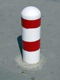 предупреждение улицы стопа знака асфальта Стоковая Фотография