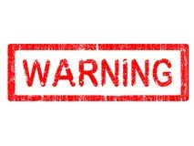 предупреждение штемпеля офиса grunge Стоковые Фотографии RF