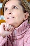 предусматривать женщину стоковое изображение
