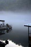 предыдущее утро рыболовства Стоковые Фотографии RF