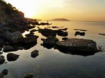 предыдущее утро рыболовства Стоковая Фотография RF