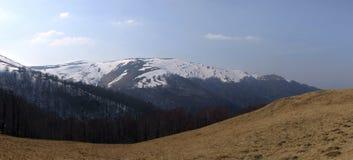 предыдущие горы над весной Стоковая Фотография RF