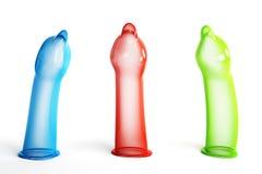 презервативы rgb стоковые фотографии rf