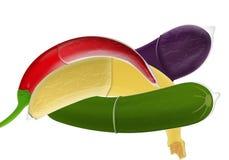 презерватив коктеила Иллюстрация вектора