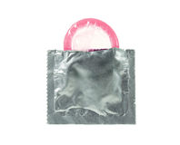 презерватив открытый Стоковое Изображение RF