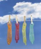 презерватив Стоковая Фотография