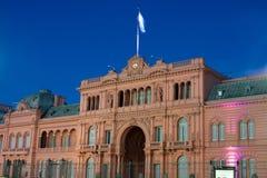 Президентский дворец Аргентины стоковое изображение