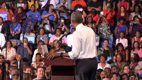 Президент встречи США Barack Obama с студентами Флориды акции видеоматериалы