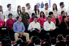 Президент Мексики, Enrique Peña Nieto Стоковое фото RF
