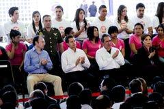 Президент Мексики, Enrique Peña Nieto Стоковое Изображение RF