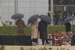 Президент Bill Clinton и Джордж HW Bush Стоковая Фотография