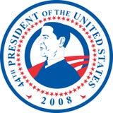 президент obama barack Стоковое Изображение