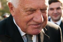 Президент Vaclav Klaus, национальное паломничество, старое Boleslav, 28 9 2017 Стоковые Фотографии RF