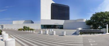 Президентская библиотека Джона Ф. Кеннеди стоковые изображения rf