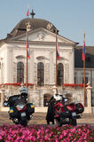 Президентская обеспеченность дворца Стоковое Изображение RF