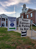 Президентские выборы 2016 США, вход избирателя, резерфорд, NJ Стоковые Фото