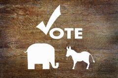 Президентские выборы США стоковые изображения rf