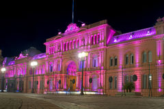 Президентский дворец Аргентины стоковая фотография rf