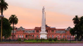 Президентский дворец Аргентины стоковые фотографии rf