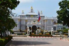 Президентский дворец Лаос Стоковое Изображение RF