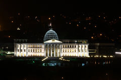 Президентский дворец, Тбилиси, Georgia, Кавказ Стоковое Изображение