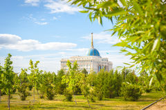 Президент Дворец Астаны стоковая фотография rf
