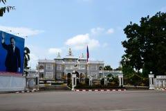 Президент Дворец Лаос Стоковые Фотографии RF