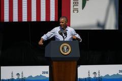 Президент Обама на двадцатом ежегодном саммите 8 Лаке Таюое Стоковые Изображения RF