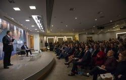 Президент Украины Petro Poroshenko в доме Chatham, Великобритании Стоковые Изображения